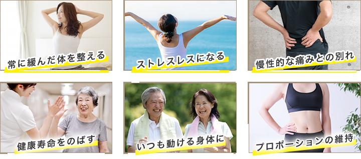 6つの健康